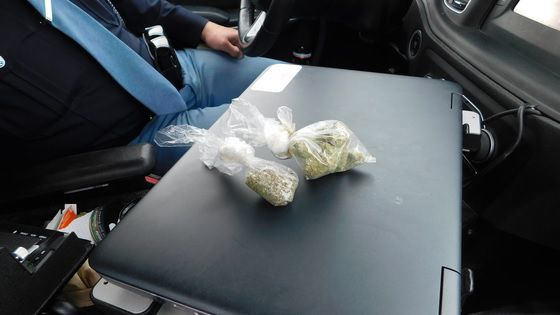 Police find vodka, marijuana in two-day blitz of semi-trailer stops