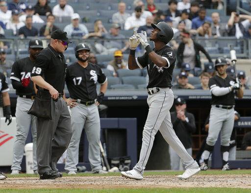 Anderson's slam backs Rodón as White Sox top Yankees 5-2