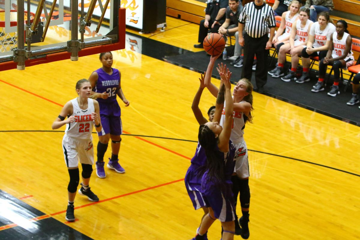 Homestead tops e c central in laporte girls basketball for Laporte schools employment