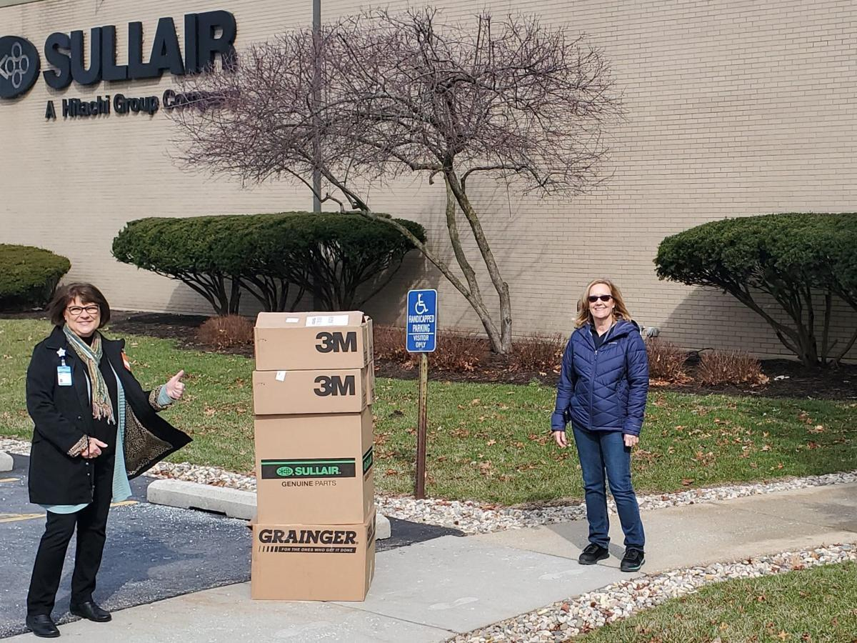 Sullair delivery to hospital