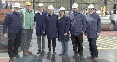 Indiana lawmakers tour ArcelorMittal steel mills