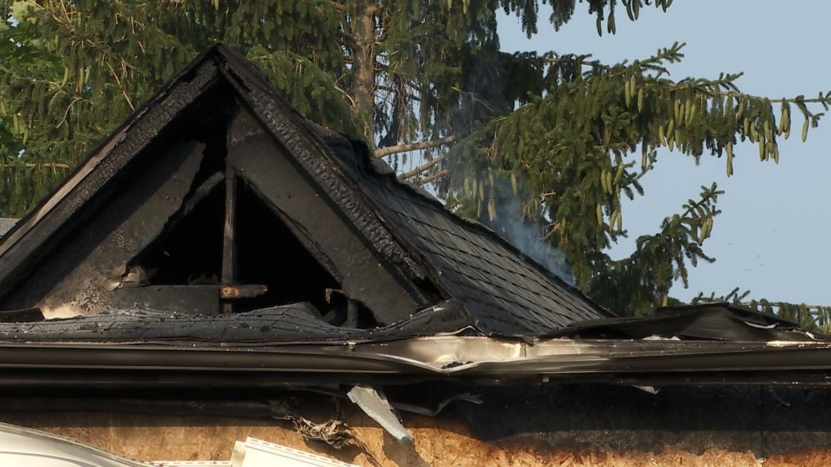 Fire displaces multiple people in Wheatfield