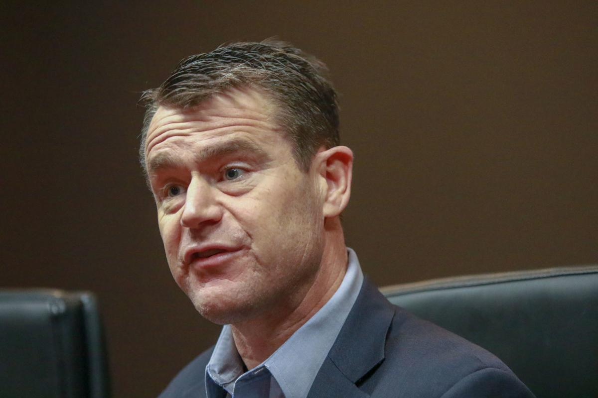 U.S. Sen. Todd Young meets with the Times Editorial Board.