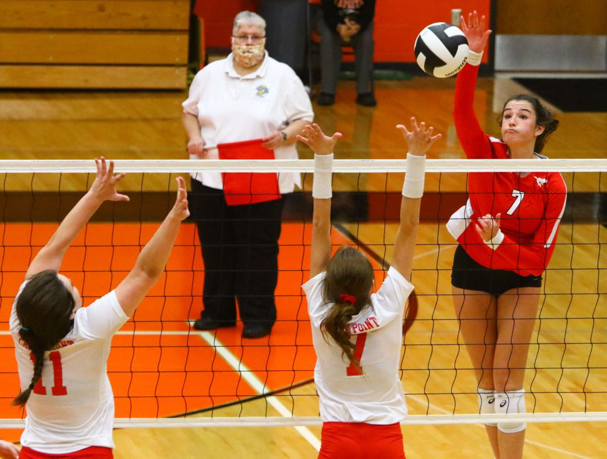4A volleyball regional final: Crown Point vs. Munster
