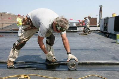 Closer to the sun, roofers reduce work load, workday