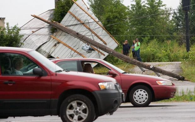 Widespread damage reported throughout region after storm