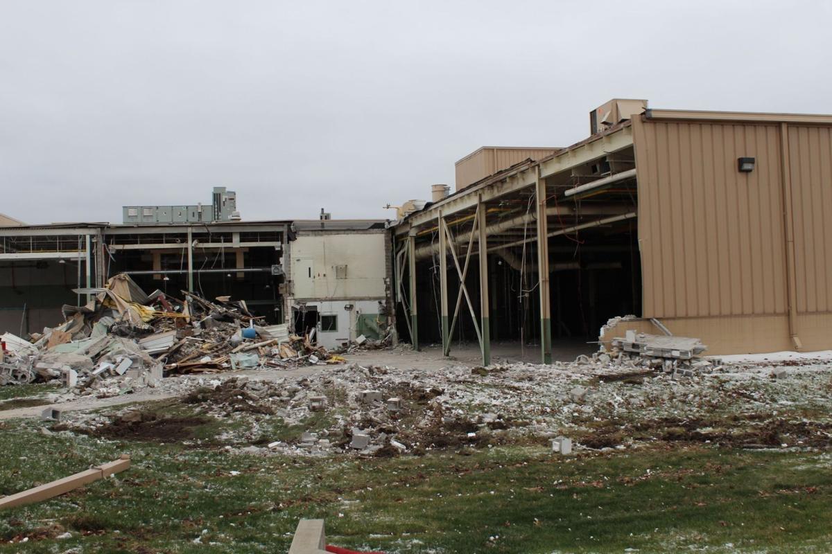 Former Urschel Laboratories site being demolished