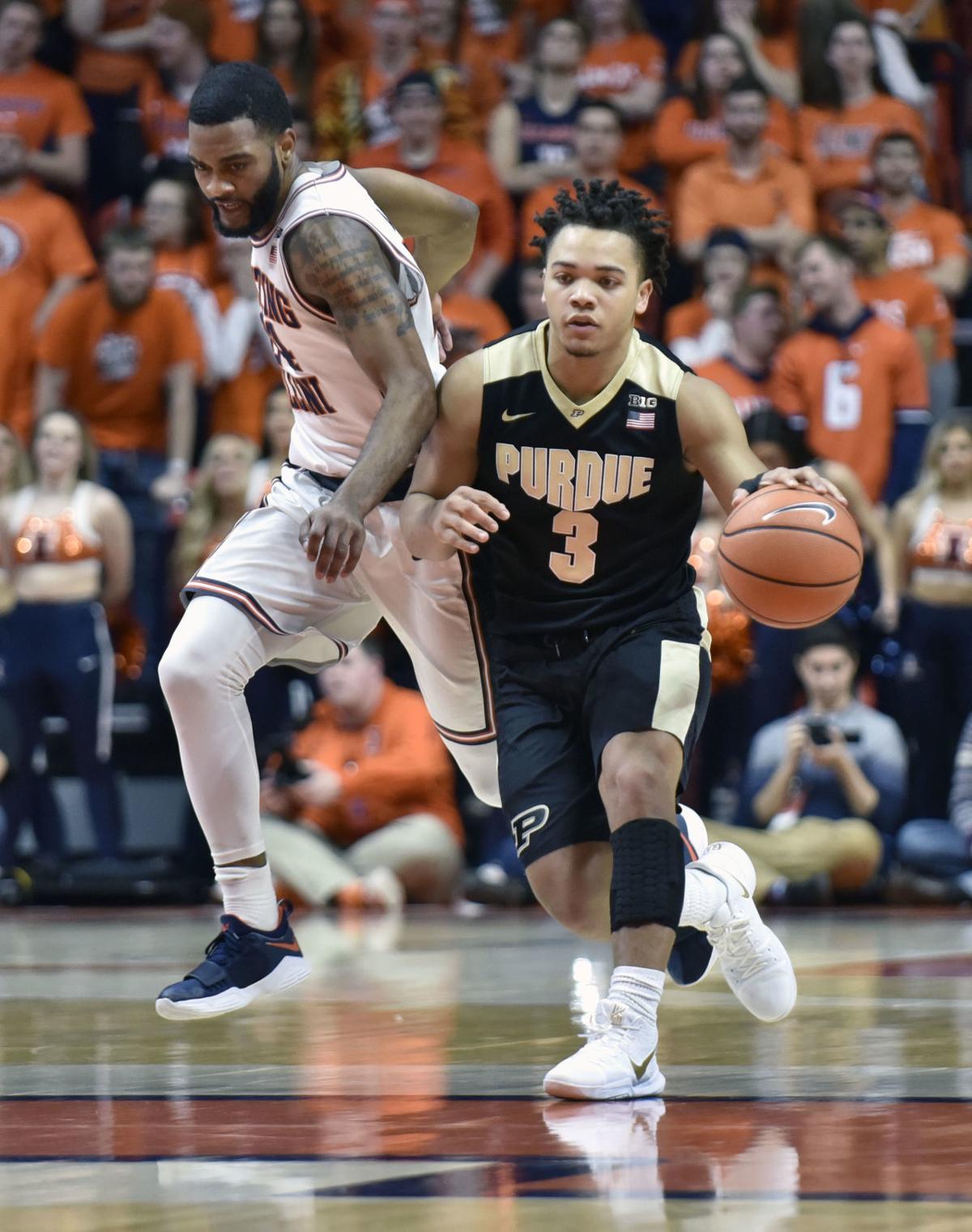 Purdue Illinois Basketball