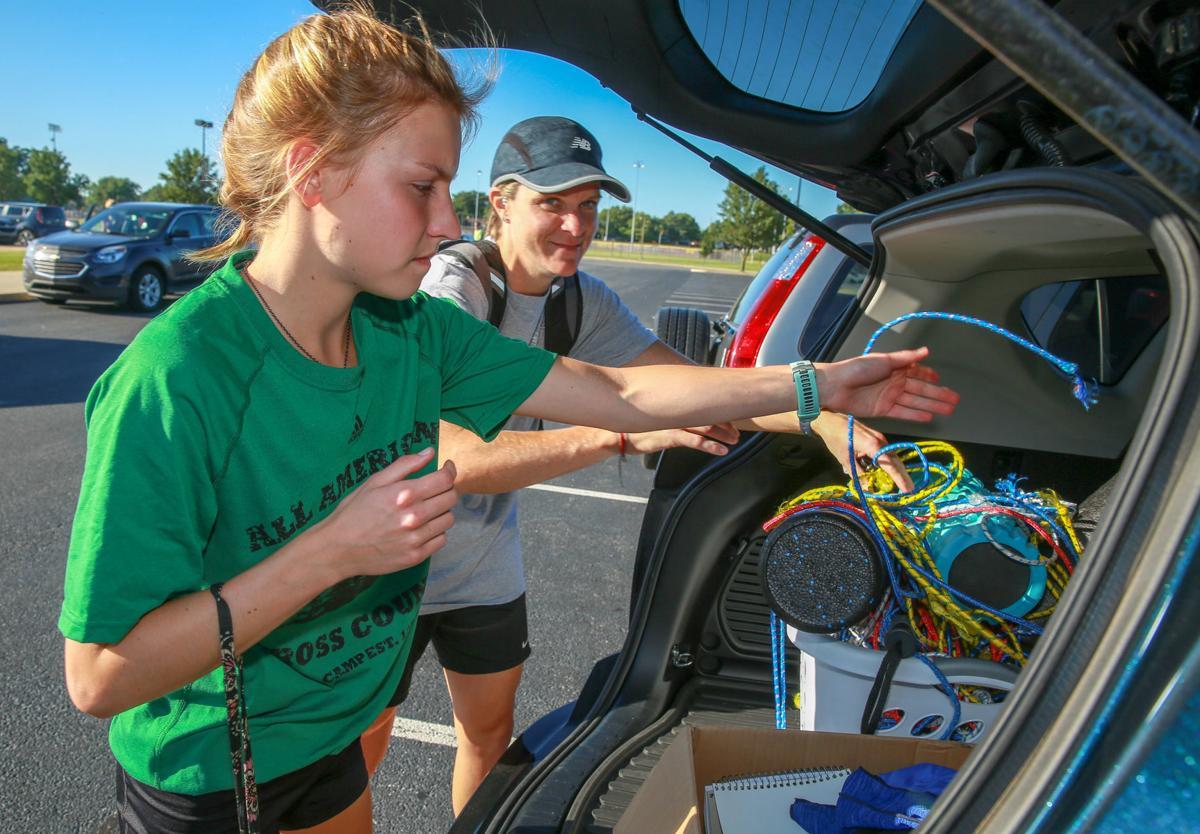Chesterton girls cross country runner Shelby Bullock