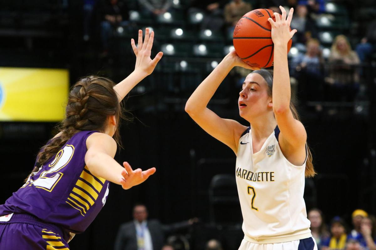 Girls Basketball State Finals: Marquette Catholic vs. Vincennes Rivet
