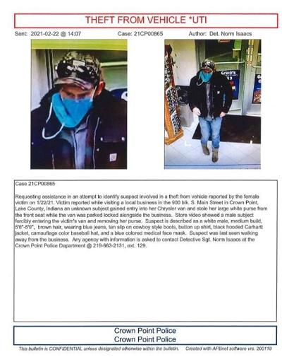 Crown Point theft