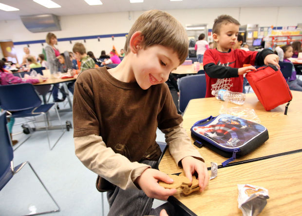 Share Table program saving food at Portage Township Schools