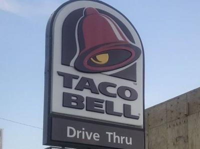 Taco Bell sign File