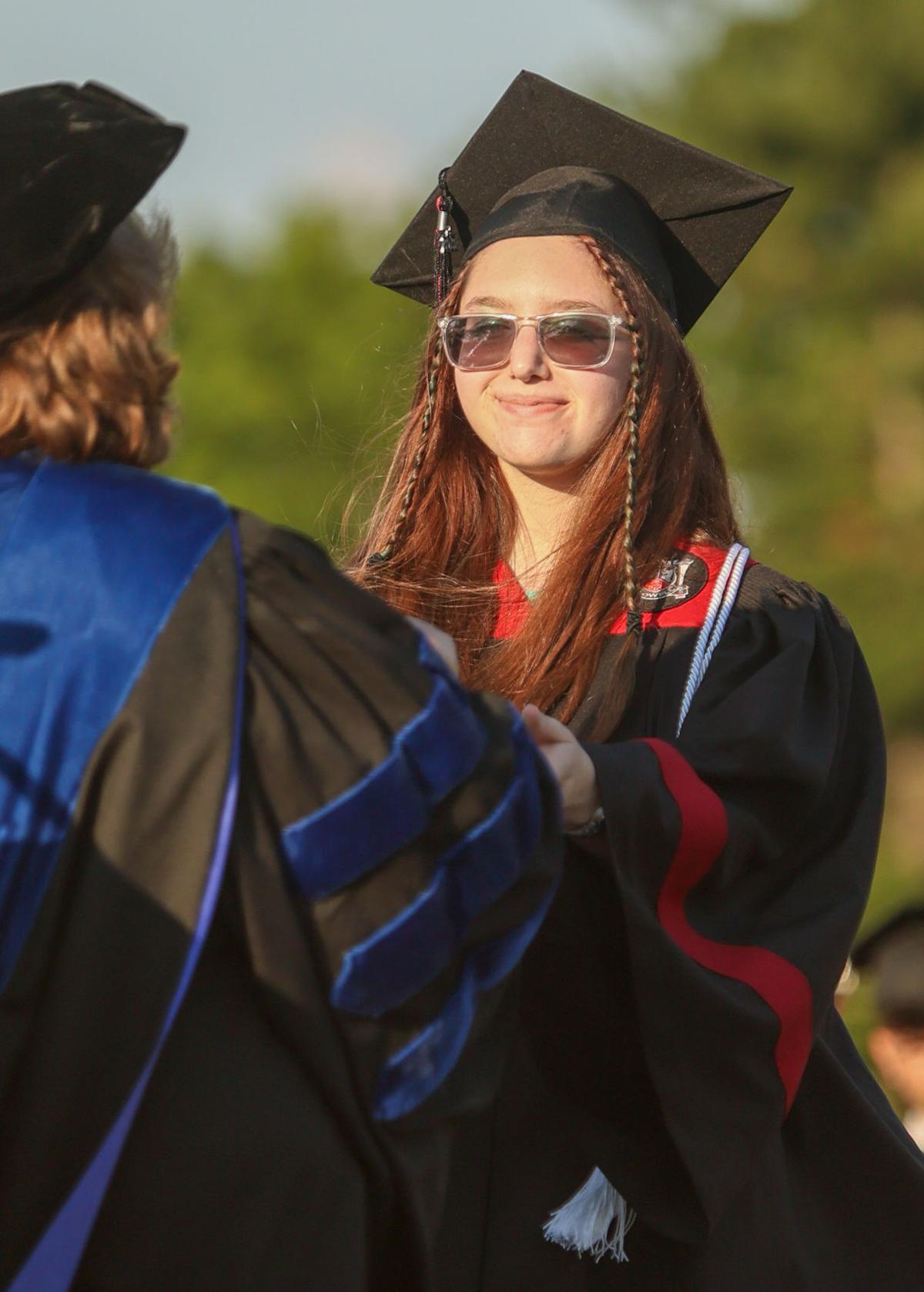 Lowell High School graduation ceremony