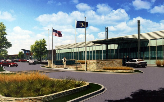 Lake Business Center redevelopment officially begins