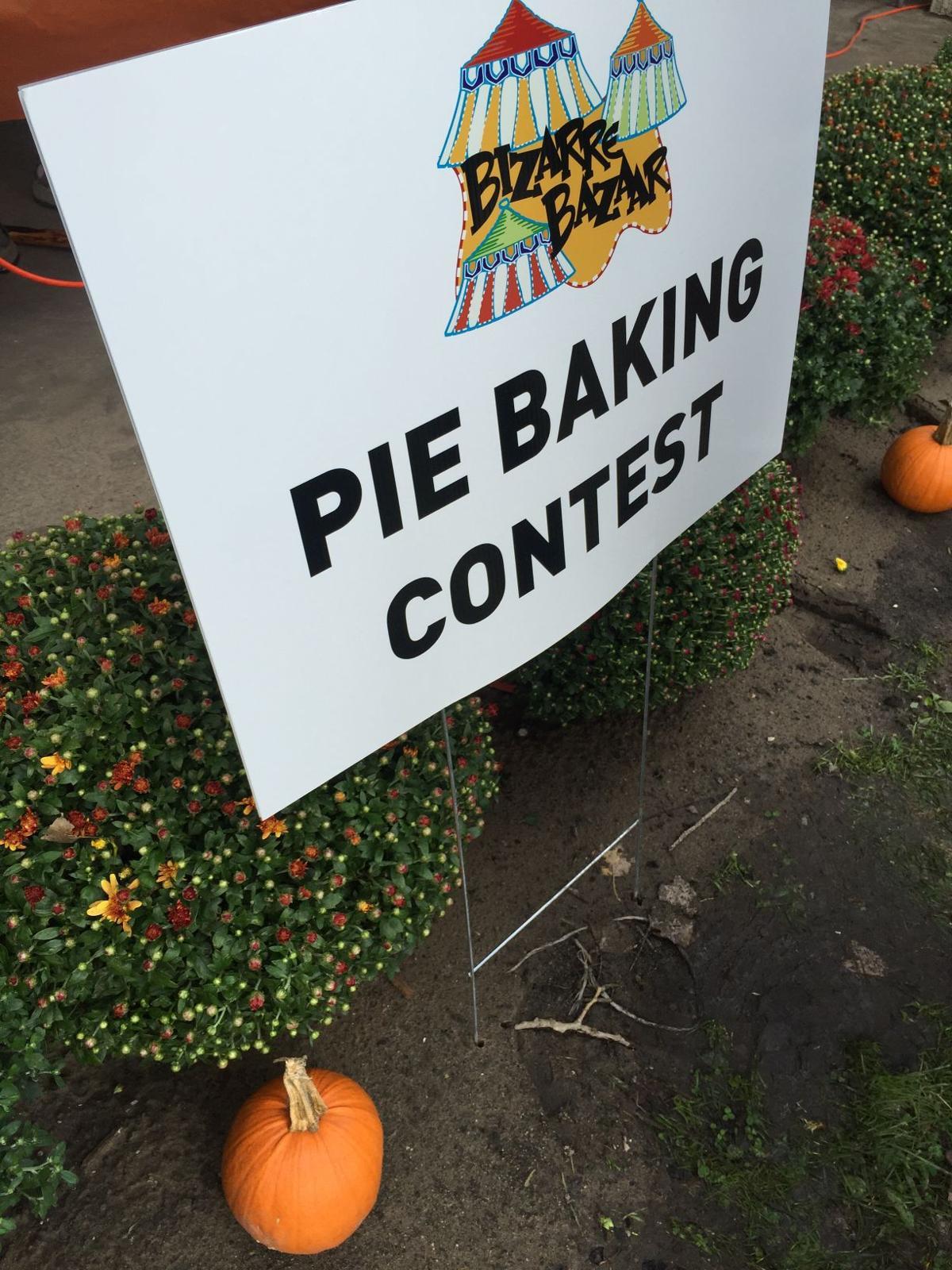 2015 Pie Baking Contest at Bizarre Bazaar in Hammond