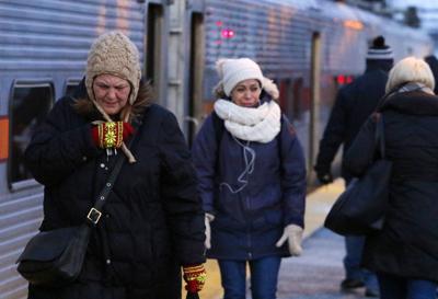South Shore Line Commuters