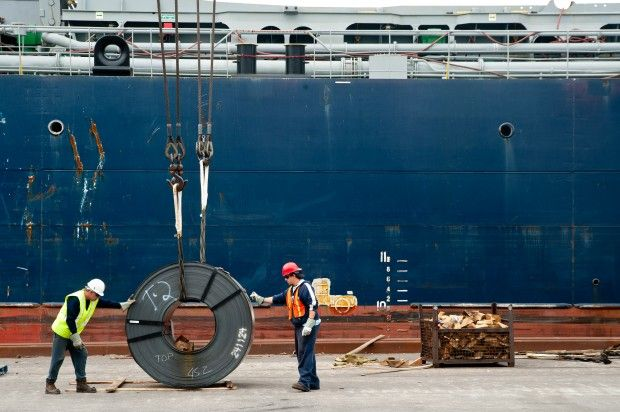 Steelmakers fighting back against record number of imports