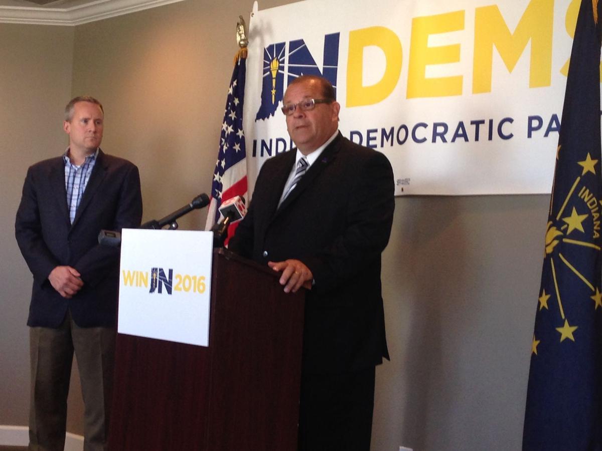 Democrats urge all Hoosiers to condemn Trump attacks on E.C. judge
