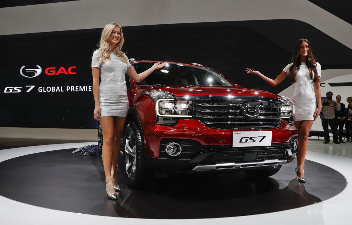 Auto Show Things We Learned Models Unveil Guangzhou Automobile