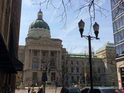 Indiana Statehouse stock