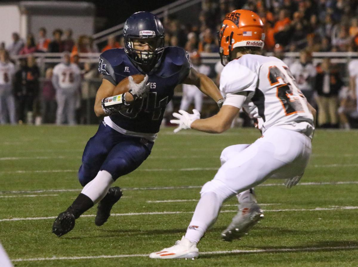Class 5A Sectional title game - LaPorte at Michigan City football