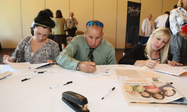 Employers looking to hire at Times job fair