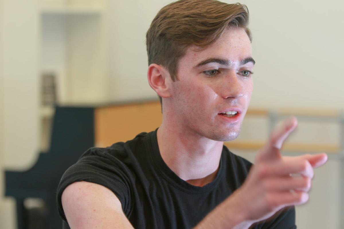 Evan Boersma - Joffrey Ballet dancer from Northwest Indiana