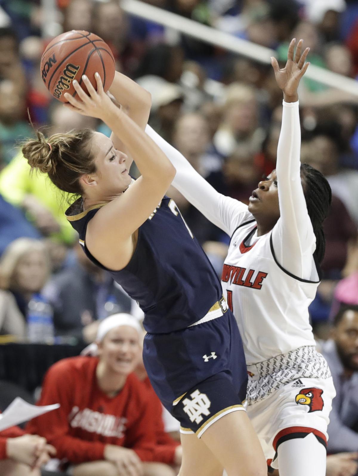 ACC Notre Dame Louisville Basketball