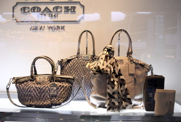 Purses Are Displayed In The Window Of New Coach At Westfield Southlake Mall Hobart On Friday