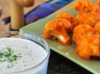 Vegan in the Region: Mmmmmm ... cauliflower wings