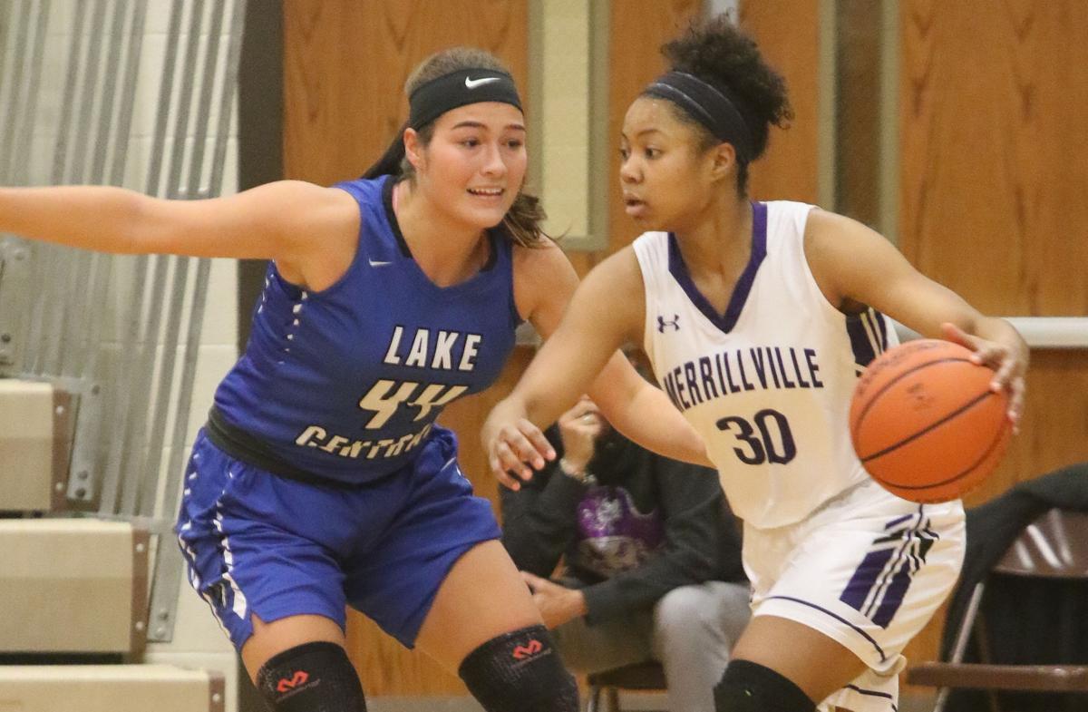 Lake Central at Merrillville girls basketball