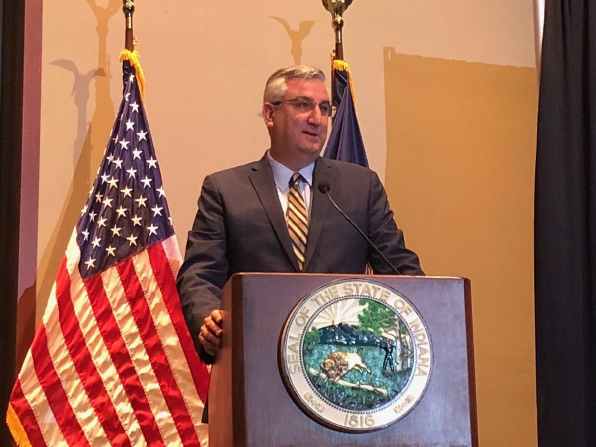 Gov. Holcomb promises action on latest recommendations to improve Indiana's Department of Child Services