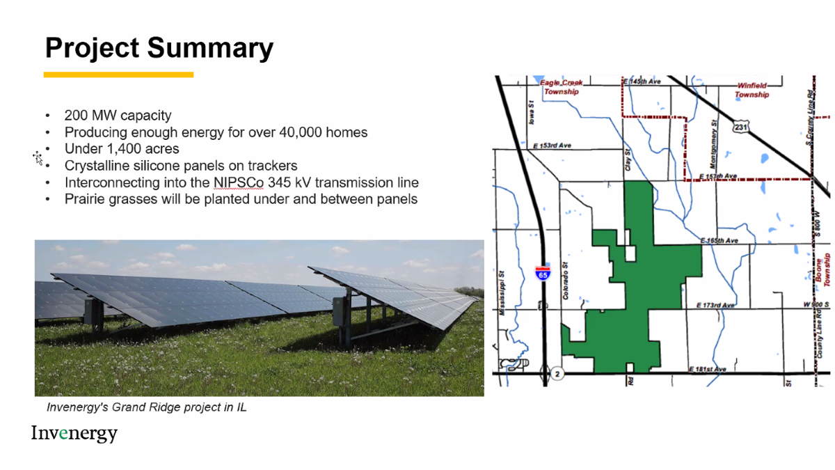 Solar farm proposed for south Lake County