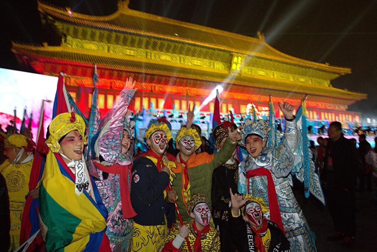 APTOPIX China New Years Eve