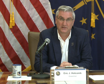 Holcomb hints at possible loosening of Indiana's stay-at-home order next week