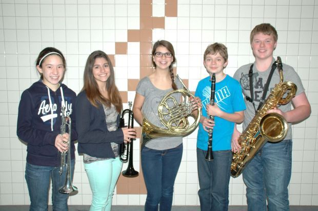 CMS students in All-Region Band