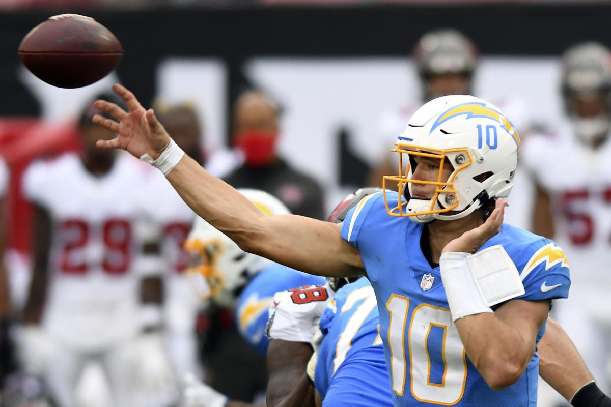 Sports Digest Chargers Name Justin Herbert Starter For Season Joe Flacco To Start For Jets National Football League Nwitimes Com