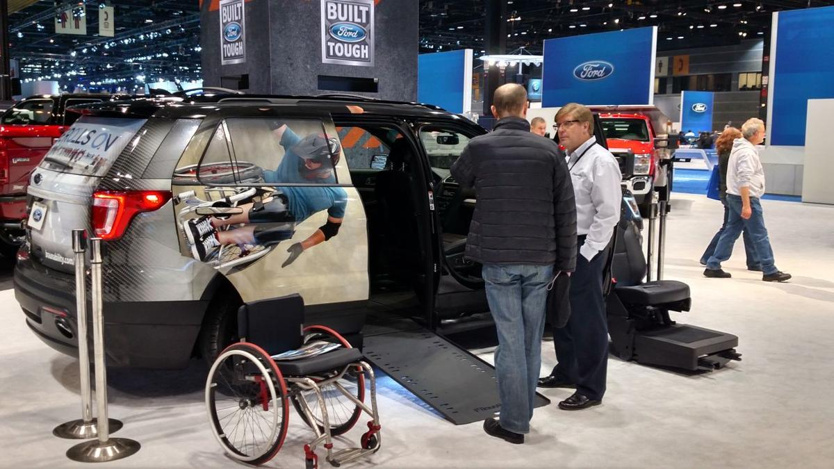 BEYOND STEEL: BraunAbility makes wheelchair-accessible SUVs
