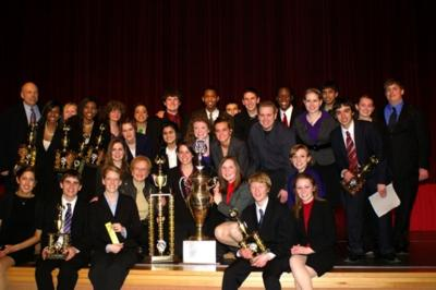 Munster team takes first in state speech contest