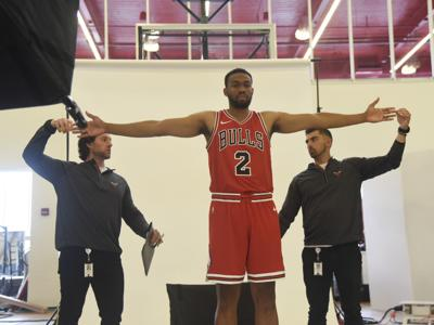 Bulls Media Day Basketball