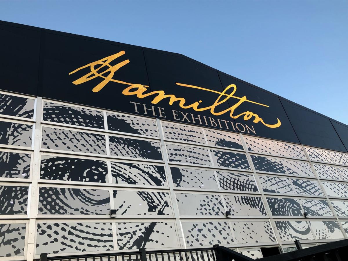 Exterior of Hamilton exhibit