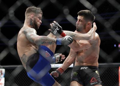 UFC 227 Garbrandt Mixed Martial Arts