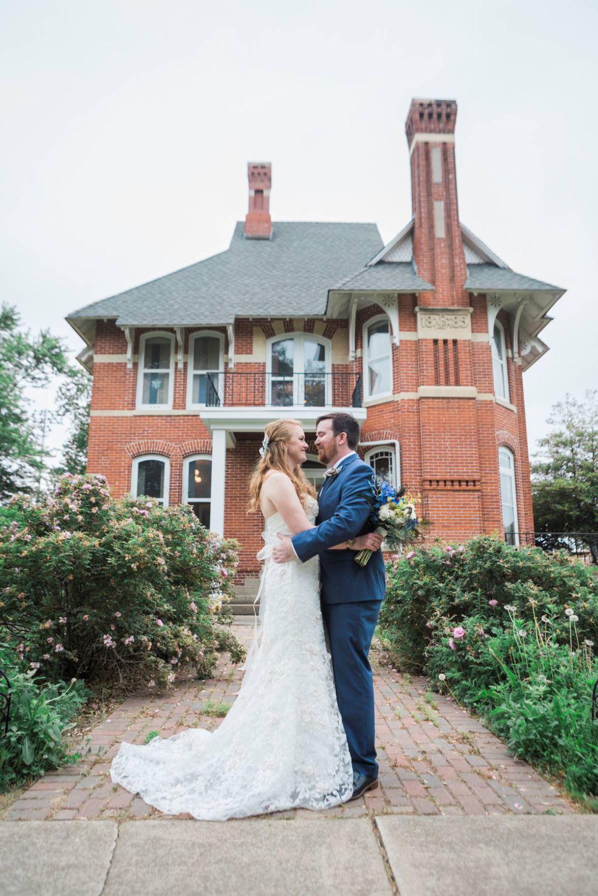 Susan Swarner and Ben Blohm marry