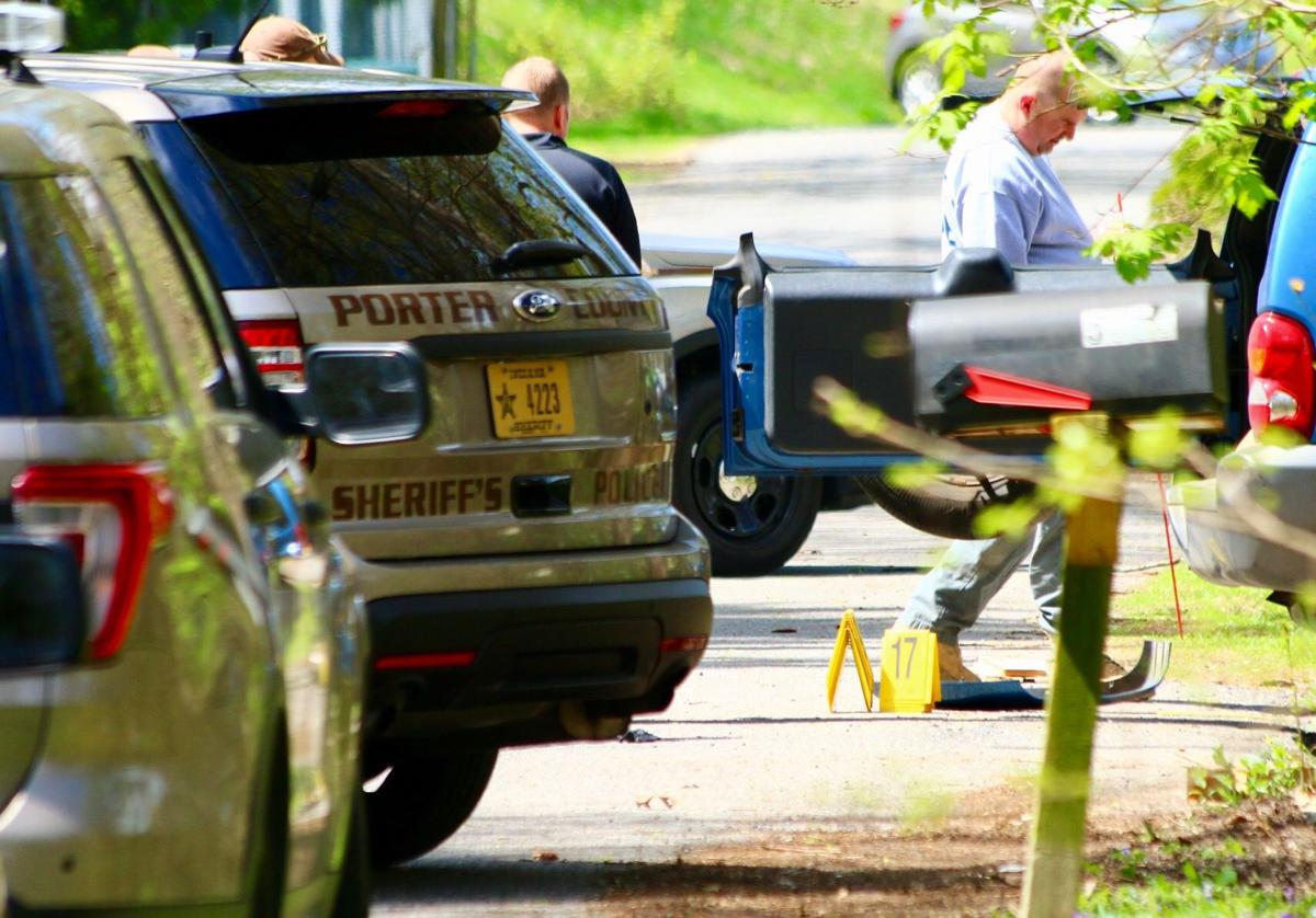 Officer-involved shooting in Portage