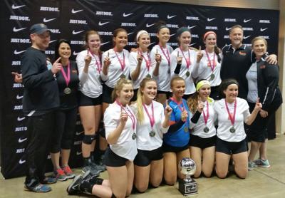 Ignite Elite 17 volleyball champions