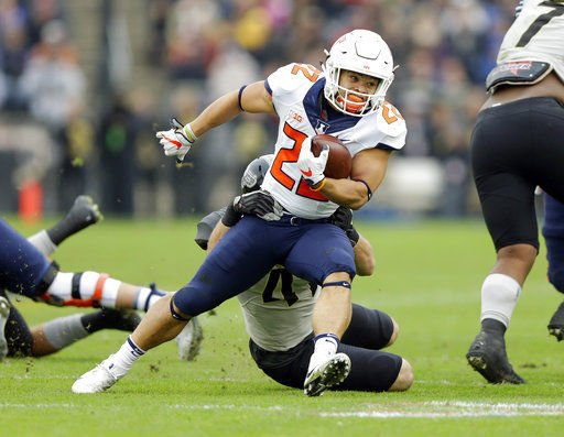 Kendrick Foster re-emerges as Illinois' top running back