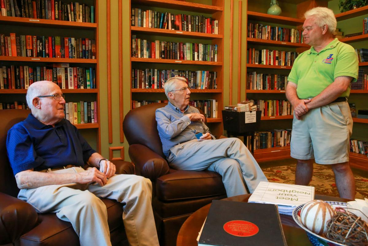World War II veterans participating in Honor Flights