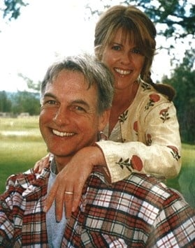 Hollywood Husband and Wife Mark Harmon and Pam Dawber