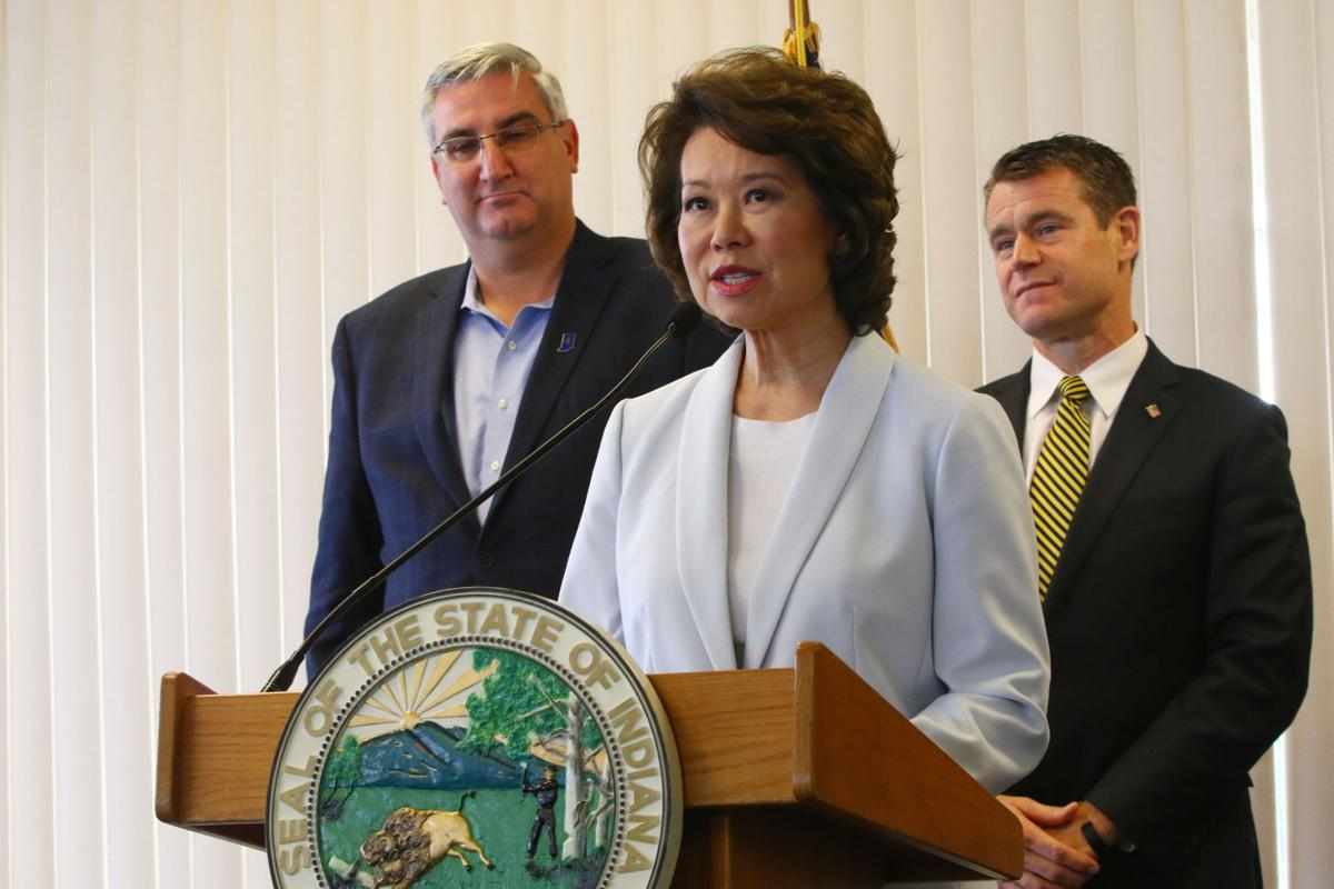 Elaine Chao in South Bend